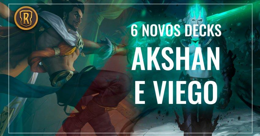 Akshan / Viego - Declare sua Lealdade