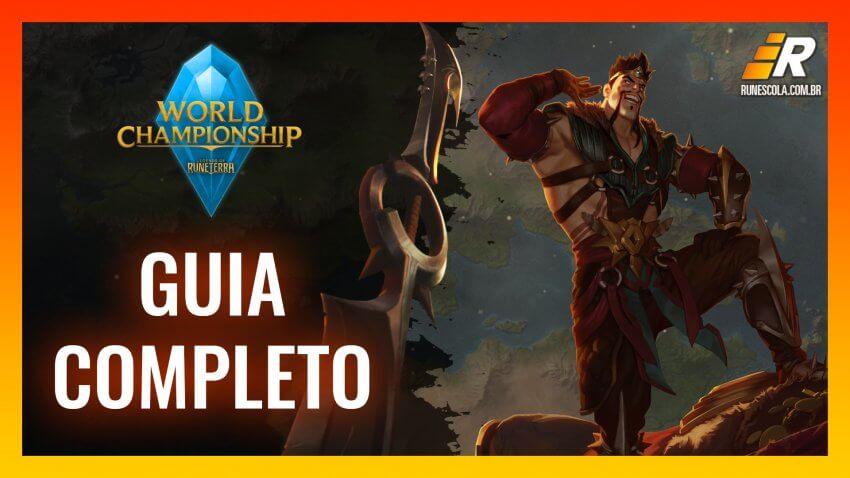 Guia - Mundial de Legends of Runeterra 2021