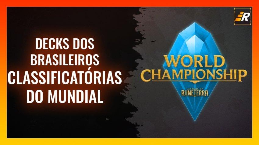 Decks - Classificatórias do Mundial